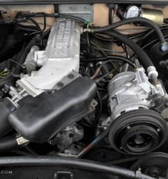 1988 ford bronco ii xl 2 9 liter ohv 12 valve v6 engine photo 49515563 [ 1024 x 768 Pixel ]
