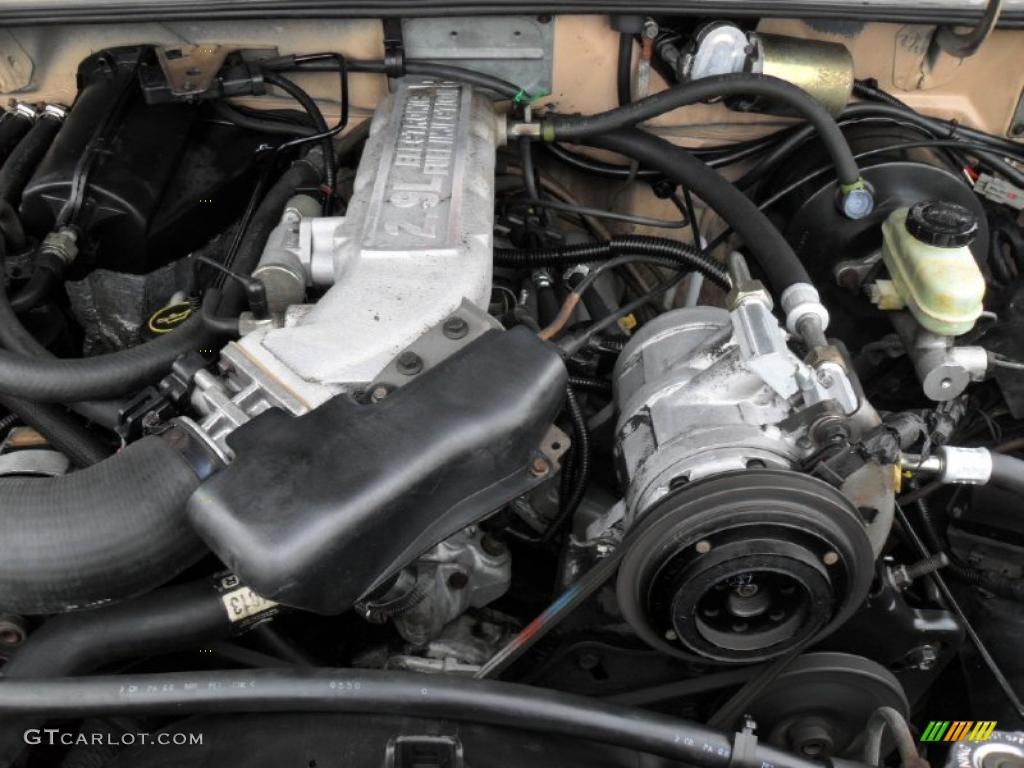 hight resolution of 1988 ford bronco ii xl 2 9 liter ohv 12 valve v6 engine photo 49515563