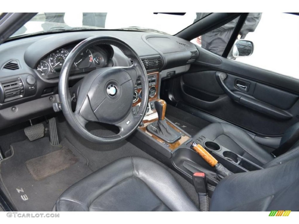 medium resolution of black interior 2002 bmw z3 3 0i roadster photo 49657984