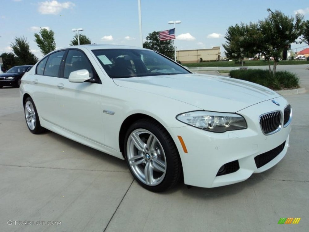 medium resolution of alpine white 2011 bmw 5 series 535i sedan exterior photo 49696171