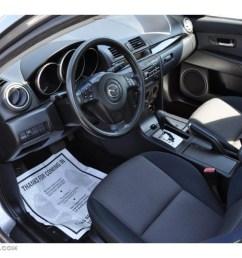 black interior 2005 mazda mazda3 i sedan photo 49823844 [ 1024 x 768 Pixel ]
