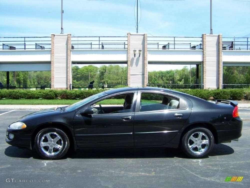 medium resolution of brilliant black crystal pearl 2003 dodge intrepid sxt exterior photo 49831416