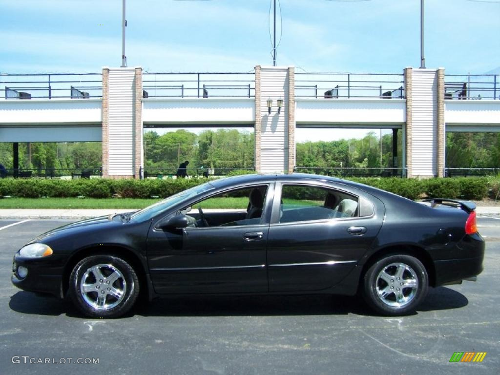 hight resolution of brilliant black crystal pearl 2003 dodge intrepid sxt exterior photo 49831416