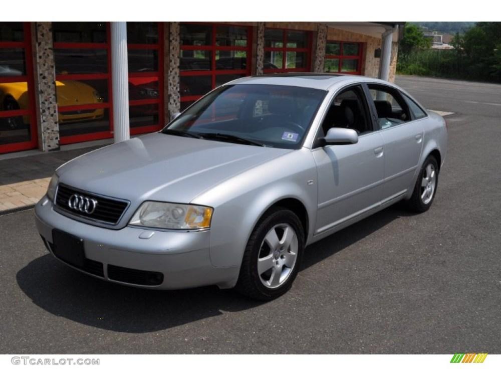 medium resolution of light silver metallic 2001 audi a6 2 7t quattro sedan exterior photo 50108448