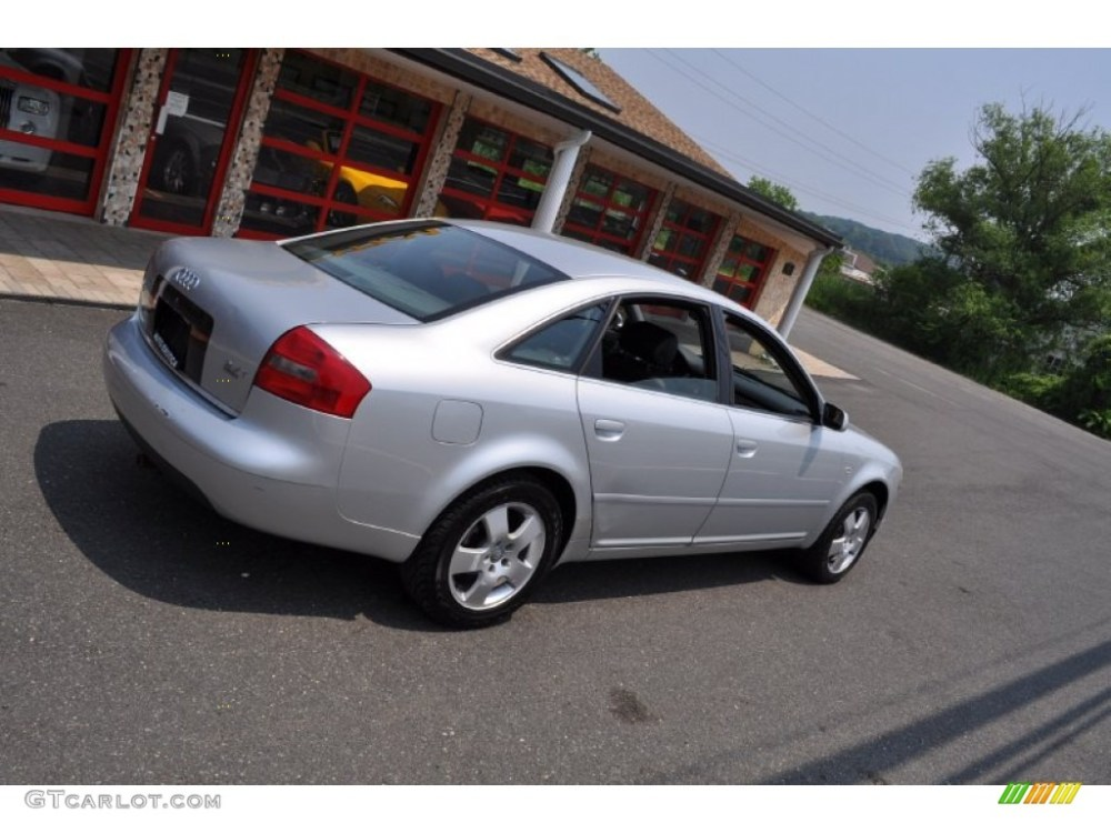medium resolution of light silver metallic 2001 audi a6 2 7t quattro sedan exterior photo 50108502