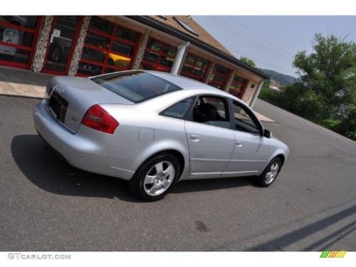 small resolution of light silver metallic 2001 audi a6 2 7t quattro sedan exterior photo 50108502