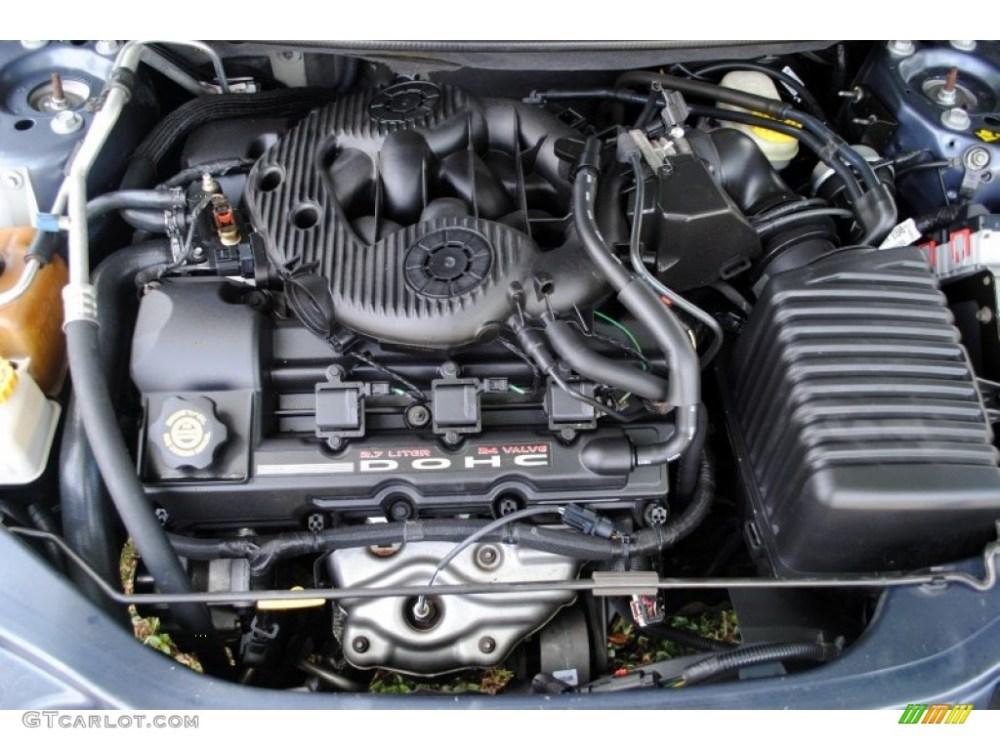 medium resolution of 2004 chrysler sebring 2 7 engine diagram 2002 chrysler 2002 chrysler sebring engine concorde engine