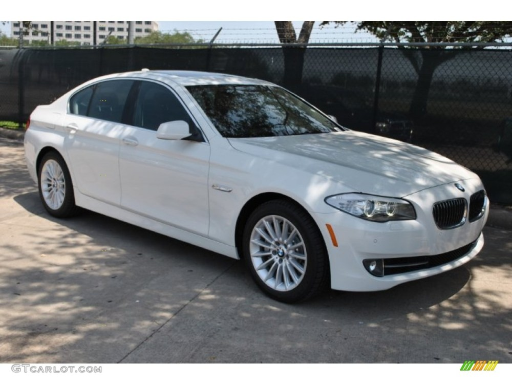 medium resolution of alpine white 2011 bmw 5 series 535i sedan exterior photo 50228733