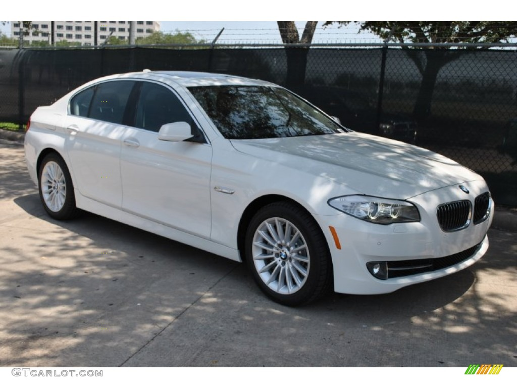 hight resolution of alpine white 2011 bmw 5 series 535i sedan exterior photo 50228733