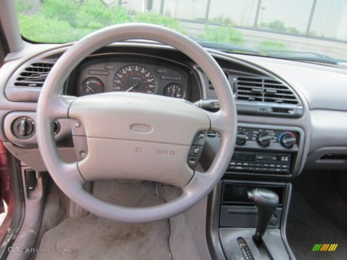 small resolution of 1995 ford contour gl beige cloth dashboard photo 50235907