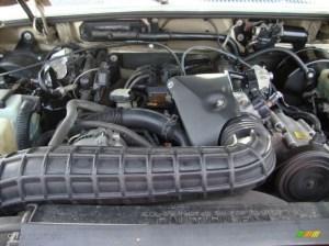 2000 Ford Explorer XLT 40 Liter OHV 12Valve V6 Engine