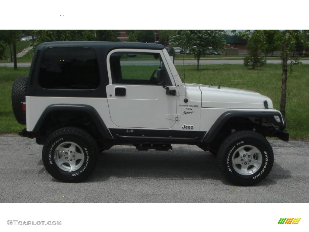 1999 Jeep Wrangler Sport 4x4 In Stone White Auto Electrical Wiring Alpine Cde 102 Harness