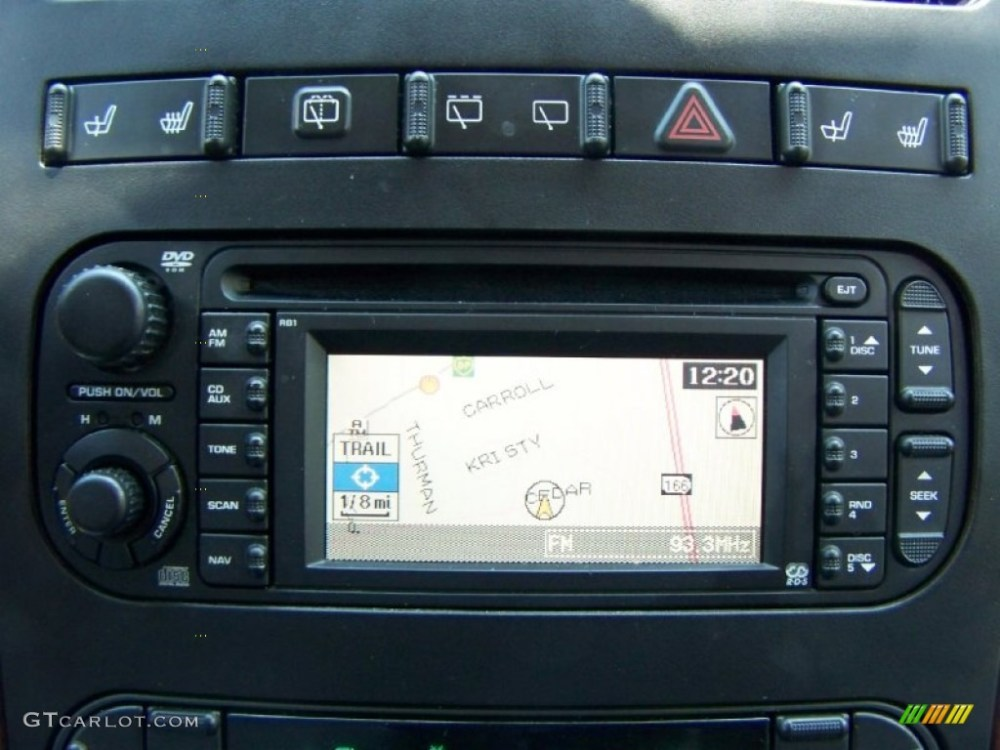 medium resolution of 2004 chrysler town country limited navigation photo