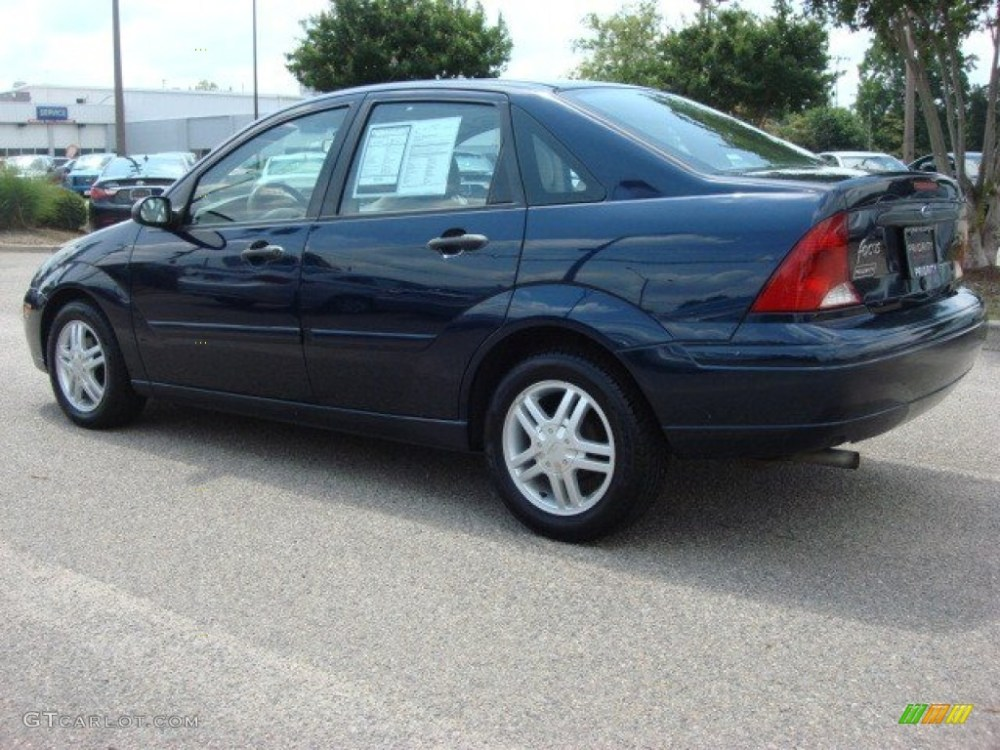 medium resolution of twilight blue metallic 2003 ford focus se sedan exterior photo 50575744