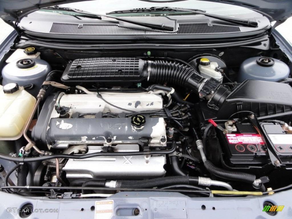 hight resolution of 1999 ford contour lx 2 0 liter dohc 16 valve 4 cylinder engine photo 50629923