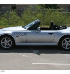 arctic silver metallic 1997 bmw z3 2 8 roadster exterior photo 50822733 [ 1024 x 768 Pixel ]