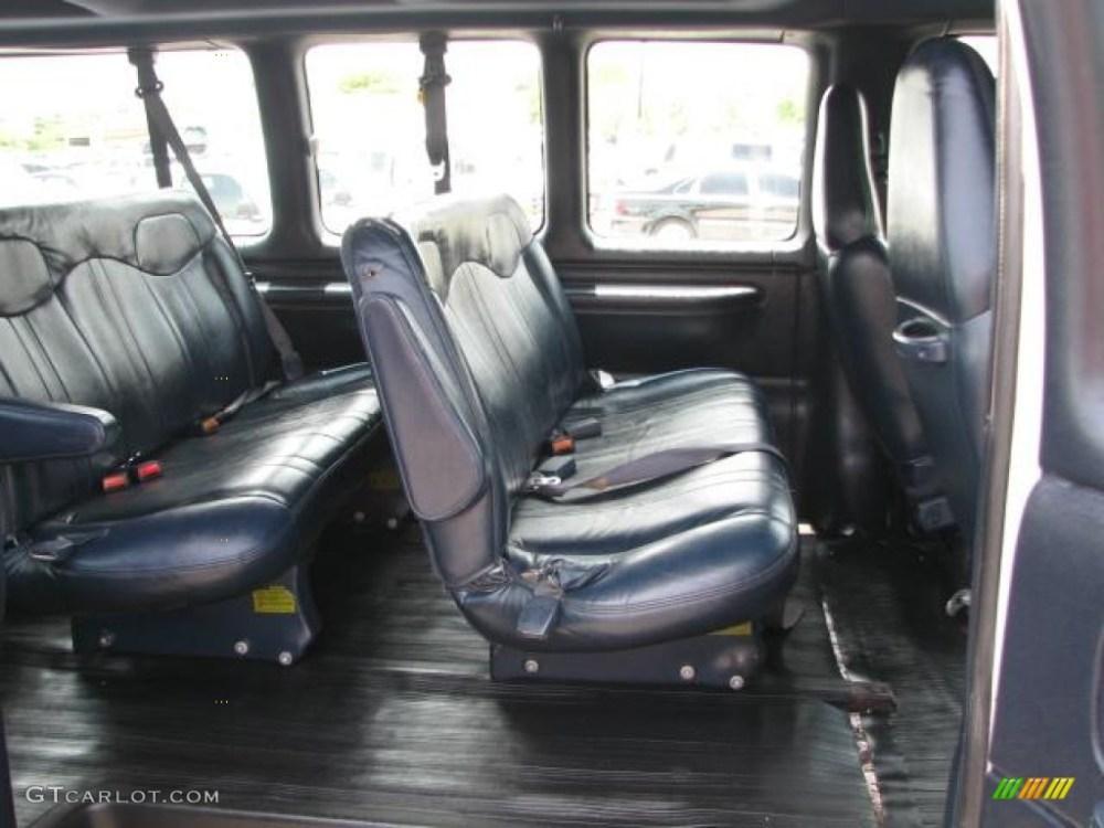 medium resolution of 2000 chevrolet express g3500 15 passenger van interior photo 50985846