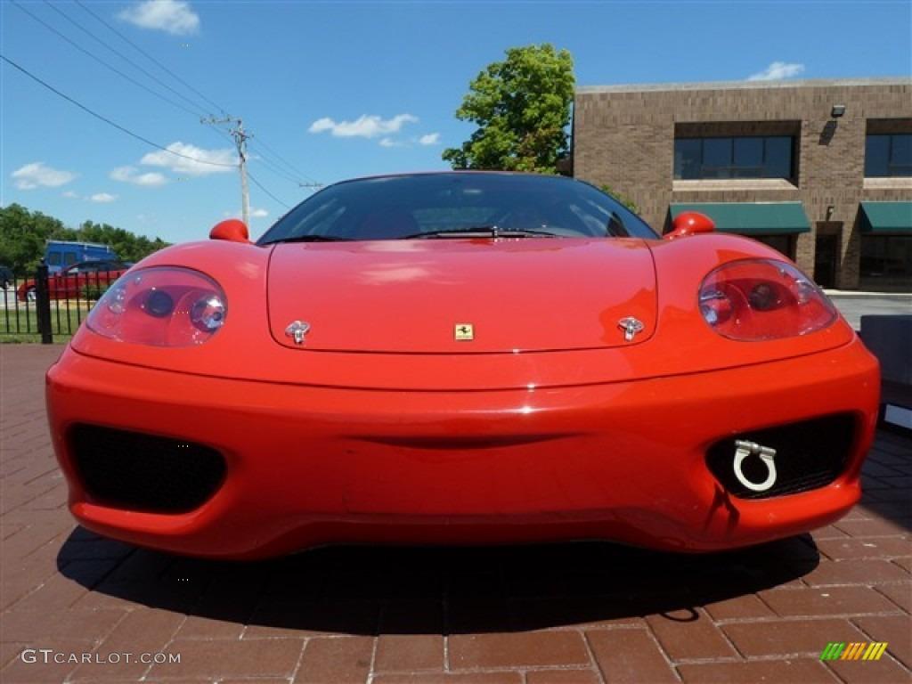 Red 2000 Ferrari 360 Challenge Race Car Exterior Photo