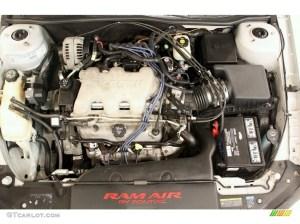 2003 Pontiac Grand Am GT Coupe 34 Liter 3400 SFI 12 Valve