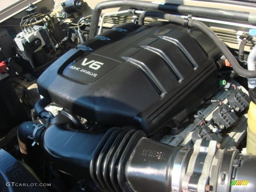 2002 Isuzu Rodeo S 3 2 Liter Dohc 24 Valve V6 Engine Photo
