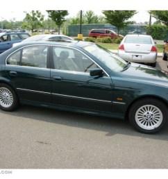 1997 5 series 540i sedan oxford green metallic sand beige photo 3 [ 1024 x 768 Pixel ]