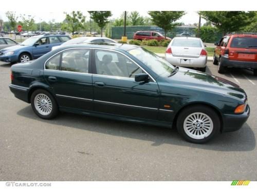 small resolution of 1997 5 series 540i sedan oxford green metallic sand beige photo 3