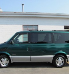 dark forest green metallic 1999 chevrolet astro ls passenger van exterior photo 51908306 [ 1024 x 768 Pixel ]