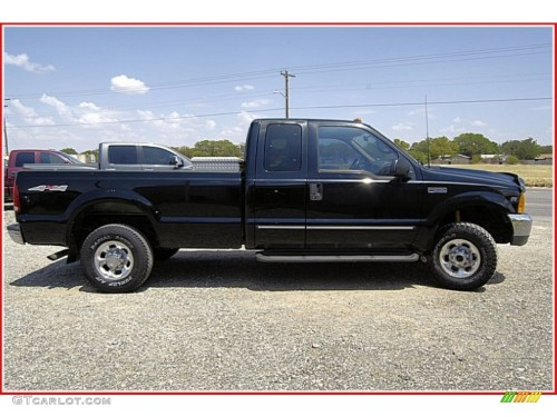 small resolution of black 1999 ford f250 super duty lariat extended cab 4x4 exterior photo 52035399