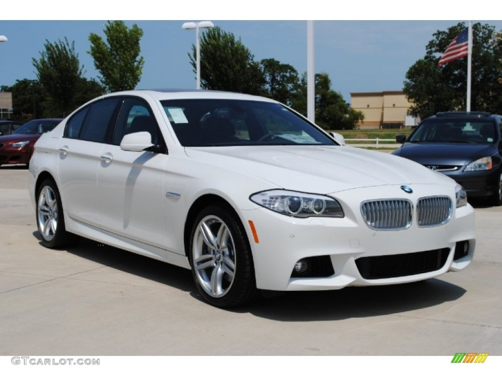 medium resolution of alpine white 2011 bmw 5 series 550i sedan exterior photo 52193731
