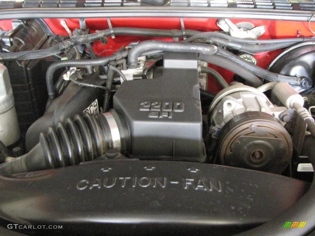 8 4 Chevrolet 2 Liter Eng 2 2002 Ohv Valve S10 Cab Fuel Cylinder Regular Parts Flex