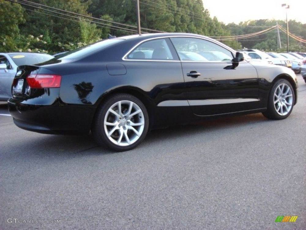 medium resolution of brilliant black 2010 audi a5 2 0t quattro coupe exterior photo 52264702