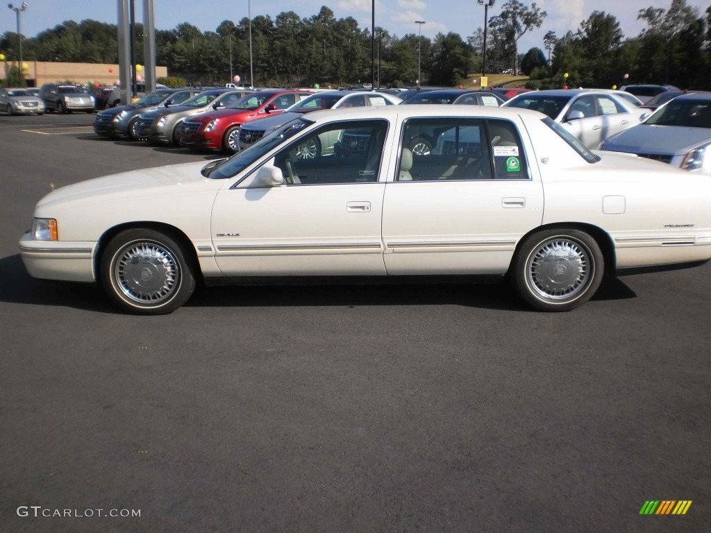 hight resolution of 1998 cadillac deville d elegance white diamond pearl color beige interior