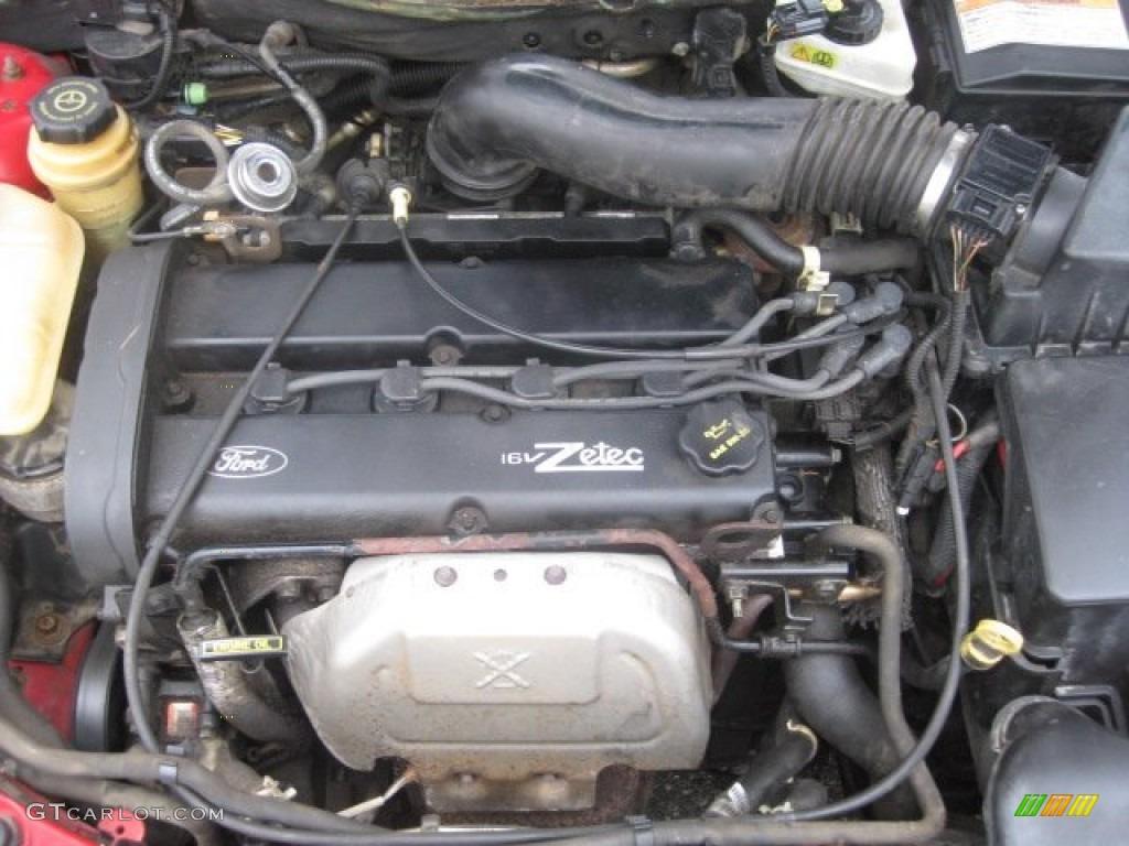 ford focus zetec engine diagram 1996 ranger 2001 se sedan 2 liter dohc 16 valve 4
