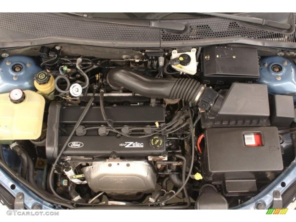 medium resolution of 2000 ford focus zts sedan 2 0l dohc 16v zetec 4 cylinder engine photo 52599737
