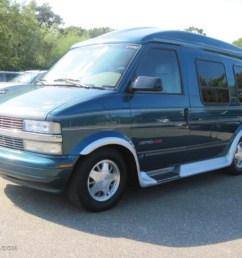 2000 astro awd passenger conversion van teal blue metallic medium gray photo 1 [ 1024 x 768 Pixel ]