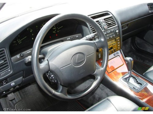 small resolution of black interior 1997 lexus ls 400 photo 52731020