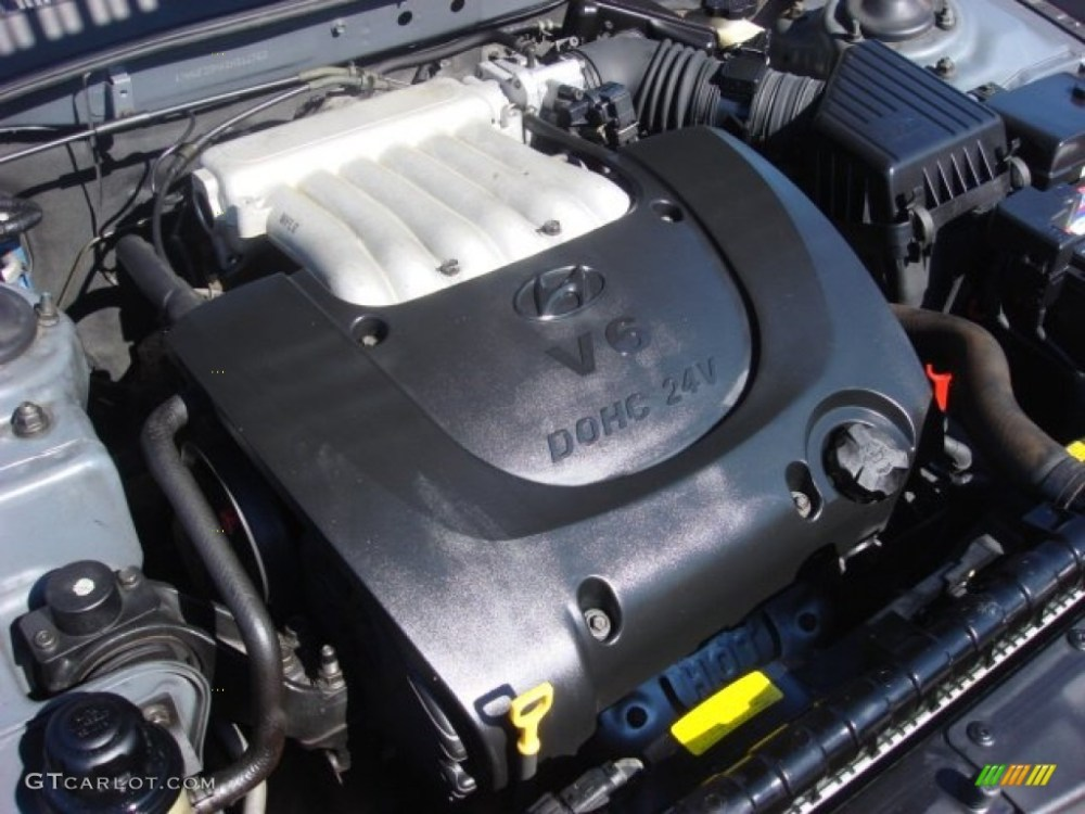 medium resolution of 2002 hyundai sonata gls v6 2 7 liter dohc 24 valve v6 hyundai santa fe parts breakdown 2010 hyundai sonata engine diagram