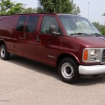 2001 Dark Toreador Red Metallic Gmc Savana Van 2500 Cargo 53673442 Gtcarlot Com Car Color Galleries