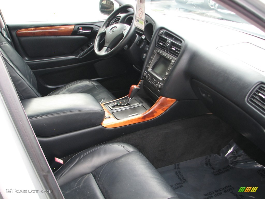 hight resolution of black interior 1998 lexus gs 400 photo 53710434