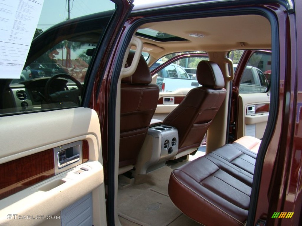 Chapparal Leather Interior 2010 Ford F150 King Ranch