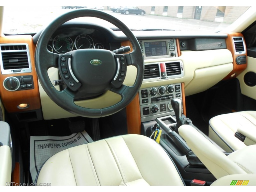 2004 range rover hse interior