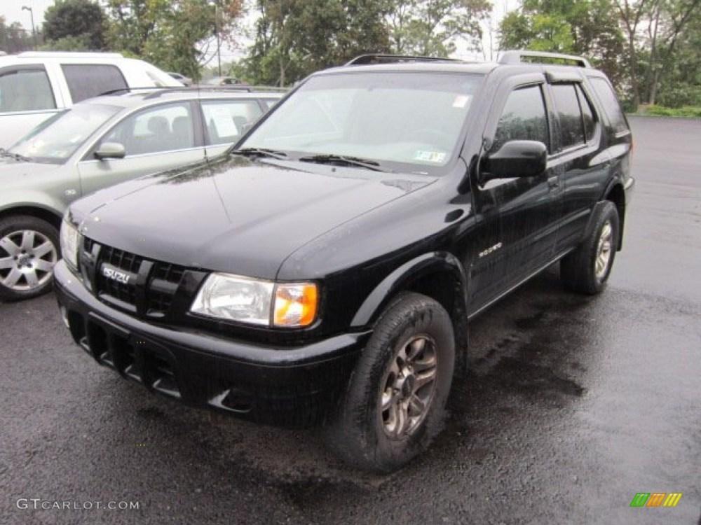 medium resolution of ebony black 2004 isuzu rodeo s 4wd exterior photo 54406417