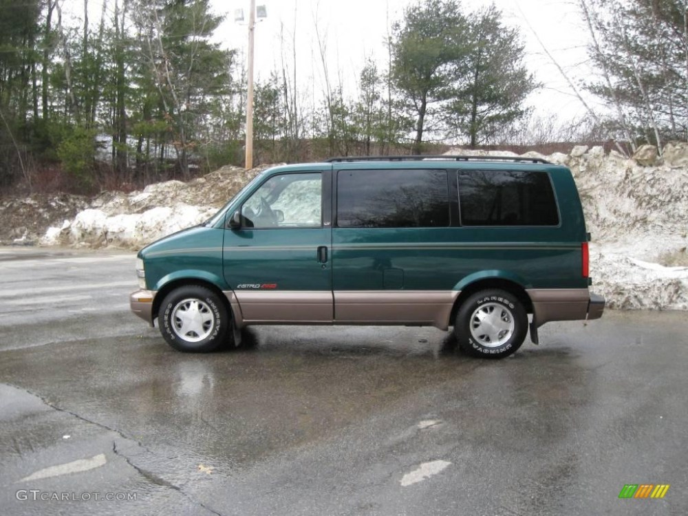 medium resolution of 1998 astro awd passenger van forest green metallic neutral photo 6