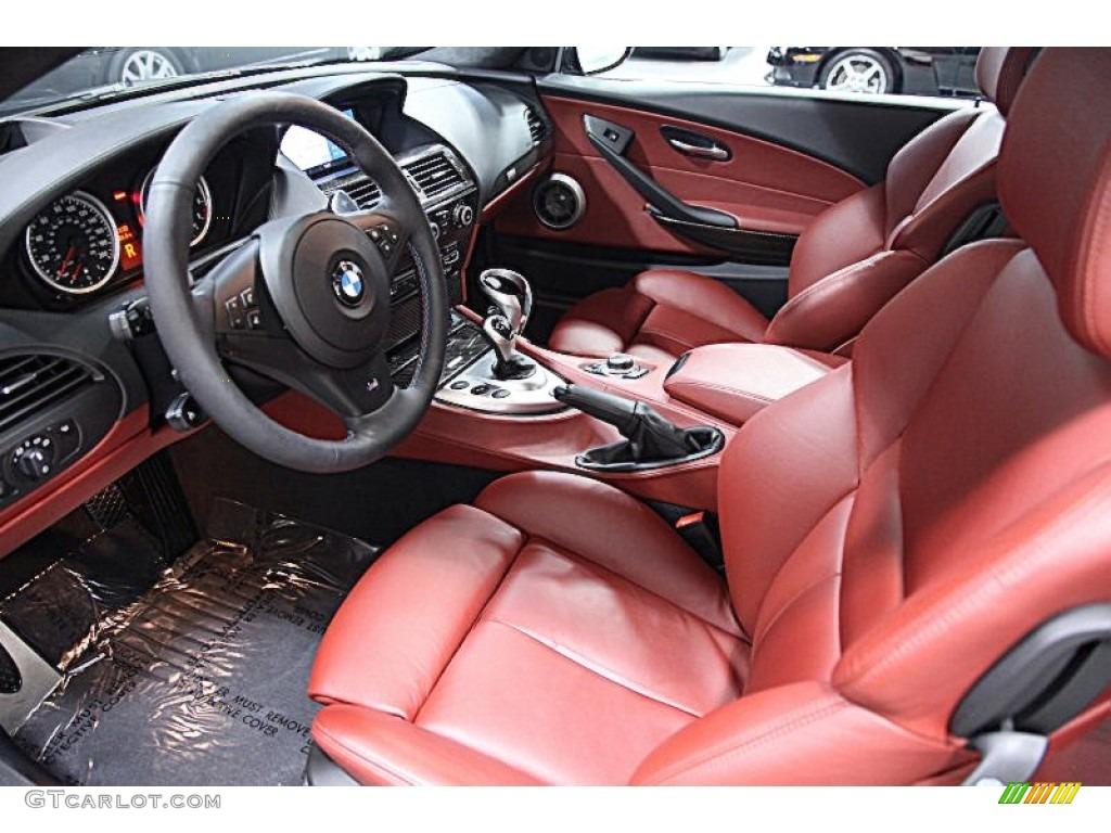 Bmw M6 2009 Interior