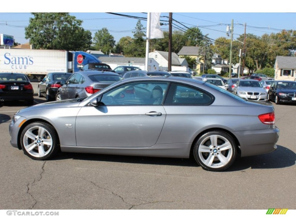 medium resolution of space grey metallic 2009 bmw 3 series 335xi coupe exterior photo 54760692