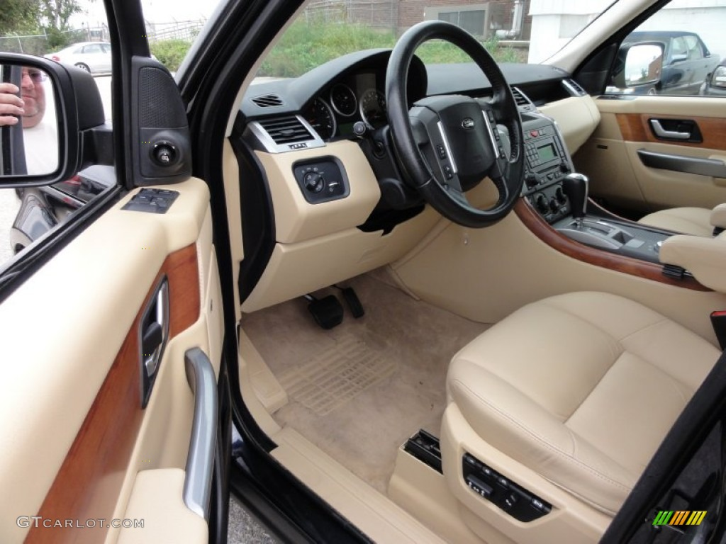 Sport Supercharged Range Rover Interior
