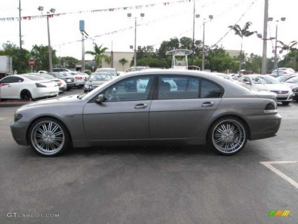medium resolution of 2003 bmw 7 series 745li sedan custom wheels photo 55545213