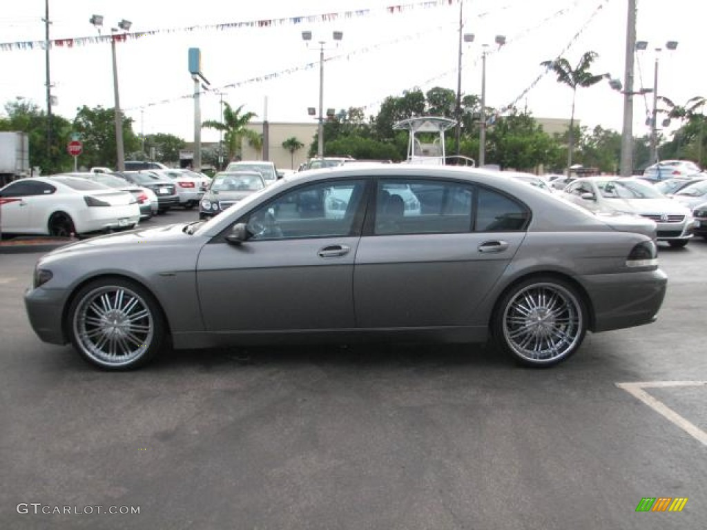 hight resolution of 2003 bmw 7 series 745li sedan custom wheels photo 55545213