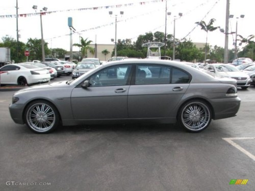 small resolution of 2003 bmw 7 series 745li sedan custom wheels photo 55545213