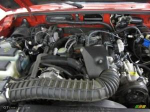 1999 Ford Ranger XLT Regular Cab 40 Liter OHV 12Valve V6 Engine  Images  Frompo